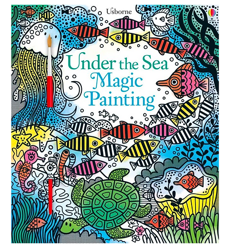 Magic Painting Book - Under the Sea