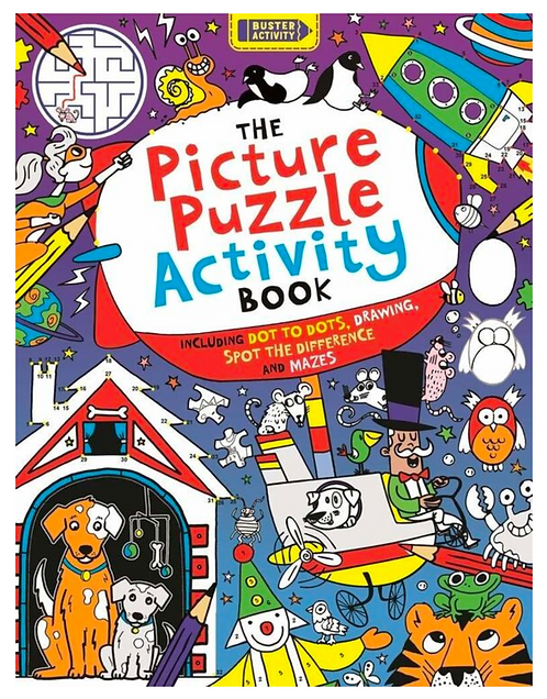 The Picture Puzzle Activity Book