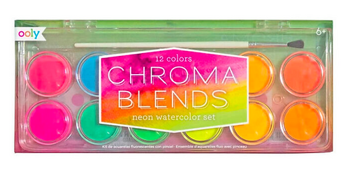 Ooly Chroma Blends Watercolour Paint - Neon