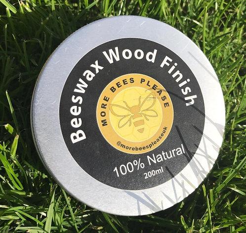 Beeswax Wood Finish