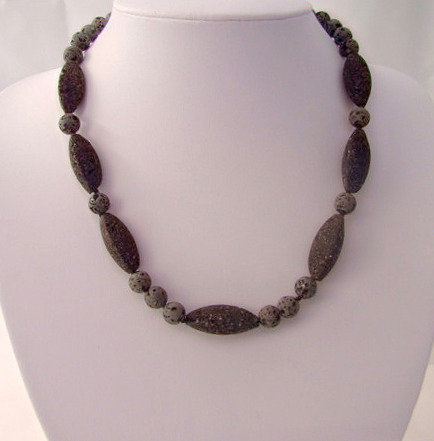 Stylish Handmaade Lava Necklace