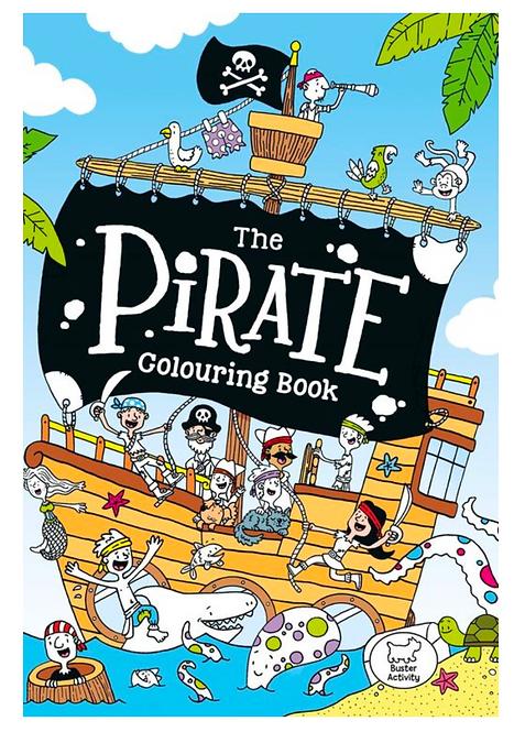 Pirate Colouring Book