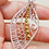 Thumbnail: Beautiful Silver and Gold Plated Leaf Pendant