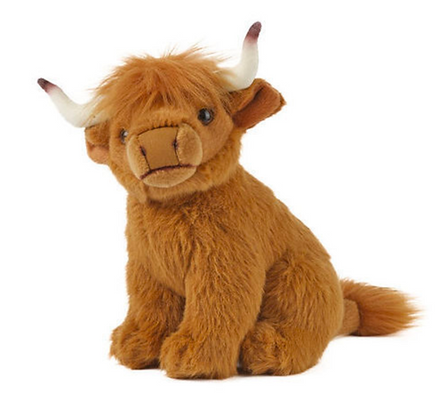 Living Nature Small Highland Cow