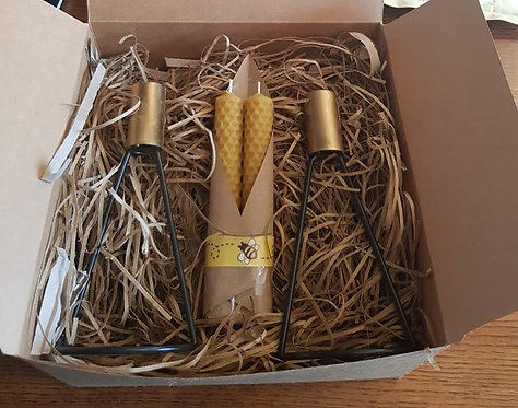 Rolled Candle Gift Box