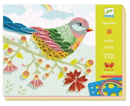 Djeco Art Paper Workshop - Spiral Seasons