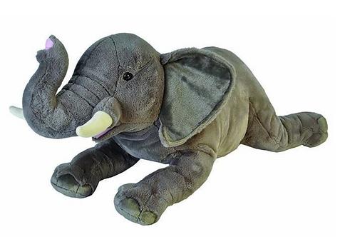 Jumbo African Elephant Cuddlekins (76cm)