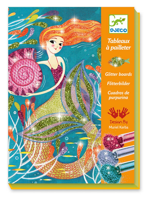 Djeco Mermaids Glitter Art Workshop