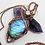 Thumbnail: Beautiful Wire Wrapped Labradorite Pendant with Moonstone Bead