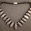 Thumbnail: Stunning Lava & Onyx Necklace
