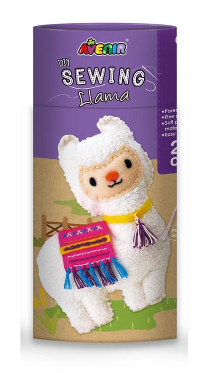 Avenir Sewing Doll Kit - Llama