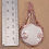 Thumbnail: Gorgeous Wire Wrapped Rose Gold Plated Pendant - Scolecite