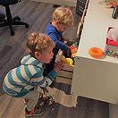 bébé et enfants et ostéopathie