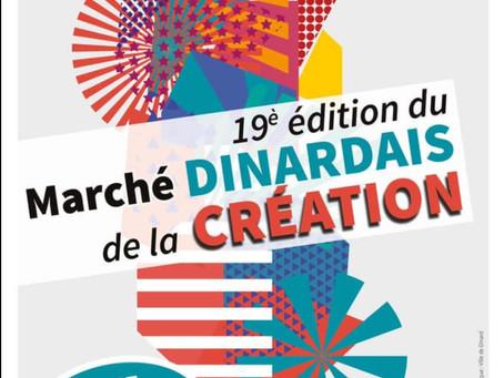 Marché Dinardais de la création - 12 juillet 2020