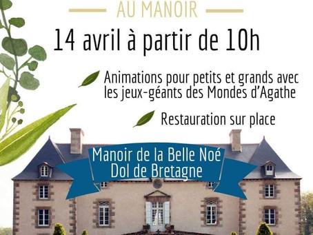 Printemps au Manoir - expo le dimanche 14 avril 2019