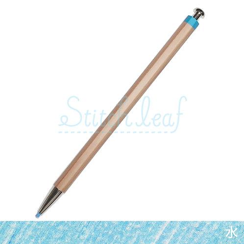 大人の色鉛筆 水 単色
