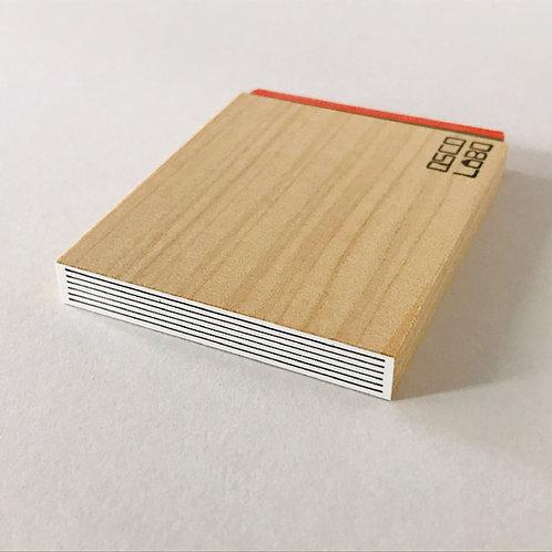 OSCOLABO カタチ×モヨウスタンプ テープ細 横罫 KTH002