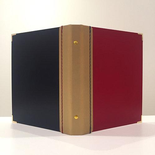 A5サイズ SLバインダーNO.1(ワイン、ゴールド、ネイビー)