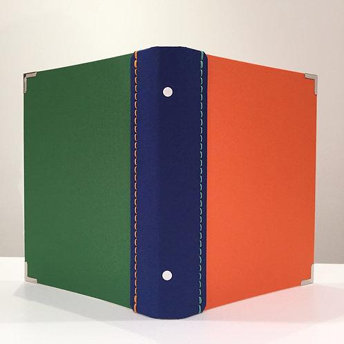 A5サイズ SLバインダーNO.10(オレンジ、ブルー、グリーン)