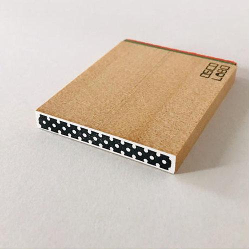 OSCOLABO カタチ×モヨウスタンプ テープ細 ドット白 KTH010