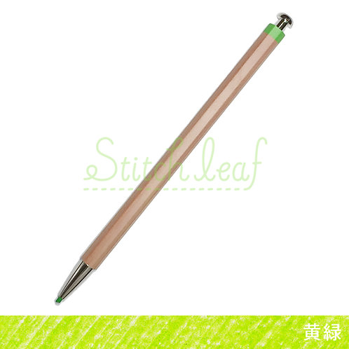 大人の色鉛筆 黄緑 単色