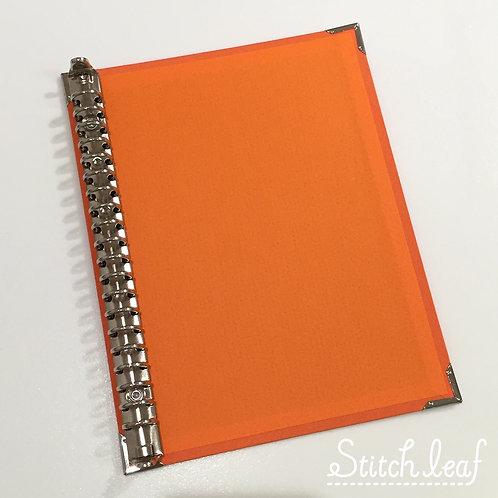 SLバインダーボードA5サイズ オレンジ
