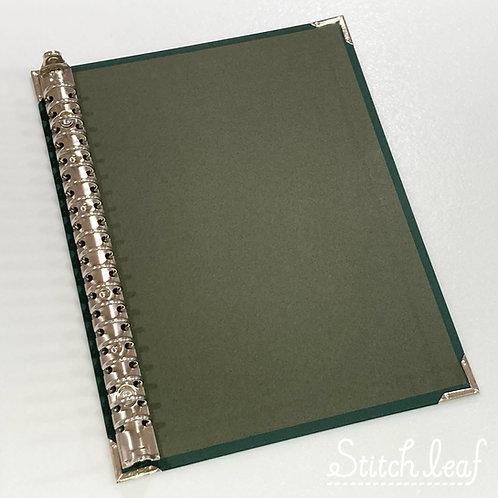 SLバインダーボードA5サイズ オリーブグリーン