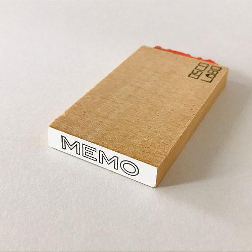 OSCOLABO ジムスタンプ MEMO JS002e