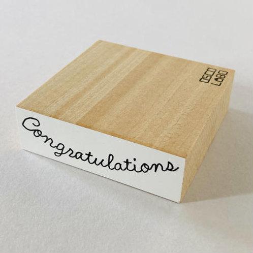 OSCOLABO メッセージスタンプ CongratulationsGM003