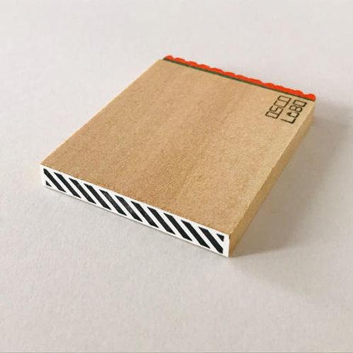 OSCOLABO カタチ×モヨウスタンプ テープ細 ななめ KTH006