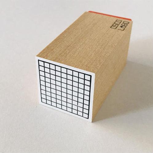 OSCOLABO カタチ×モヨウスタンプ 四角 方眼 KS001