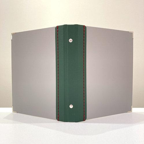 A5サイズ SLバインダーNO.16(グレー、オリーブグリーン、グレー)