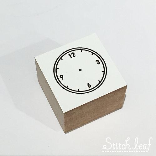 DELFONICS ウッドスタンプアイコンR時計