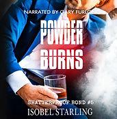 05REBRAND_ Powder Burns Audiobook cover.