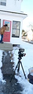 Kayla directing the short film _ commerc