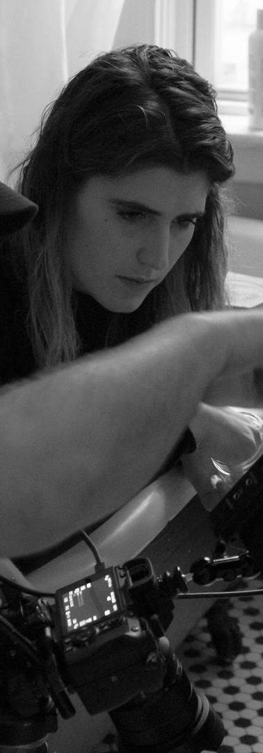 Kayla Self Directing our short film _1 i