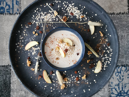 Appeltaart Smoothie Bowl