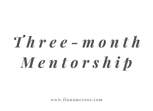 Three Month Mentorship