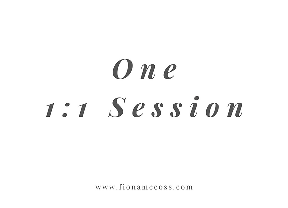 One 1:1 Session