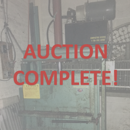 recycling auction, recycling equipment, recycling sale, New Jersey Auctioneers, Auctioneers, Auction Houses, NJ Appraisers