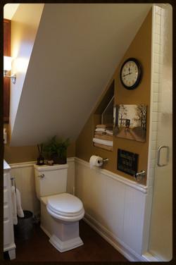 Dormer Bath Remodel