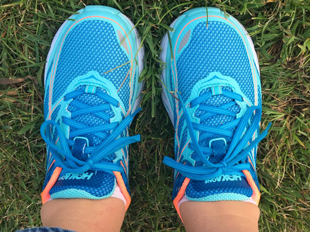walk this way - in your hoka one ones