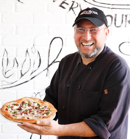 Pizza Nova Cook wth Goat Cheese Pizza