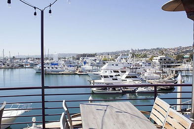 View of the marina in Point Loma