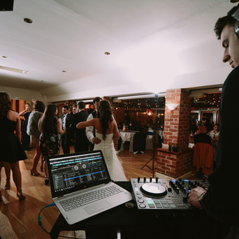 Our Wedding DJ at Little Channels