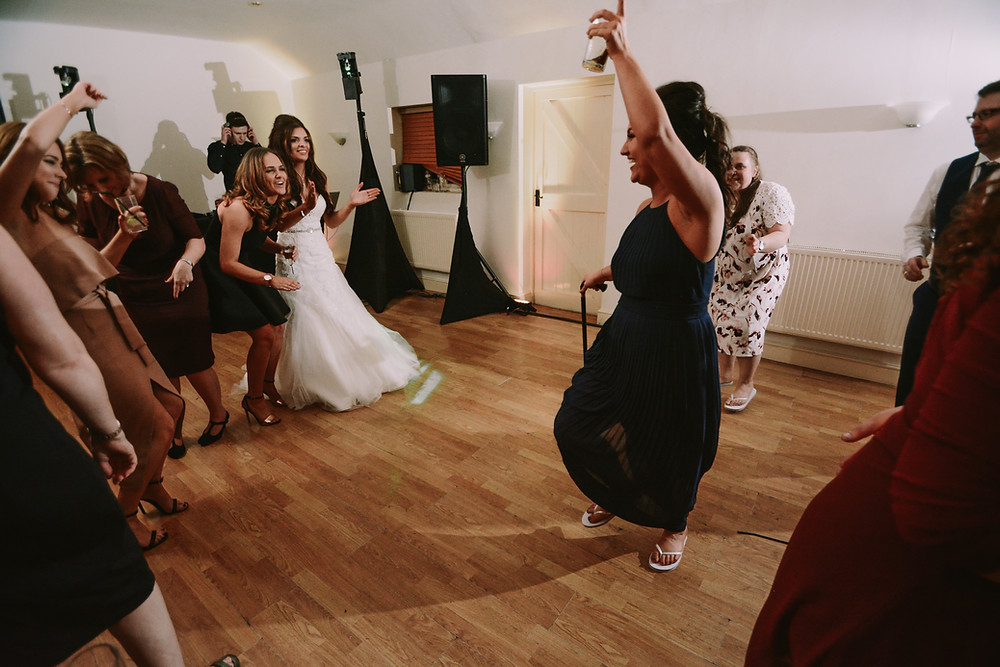 Wedding dancing with Arrowhouse Events