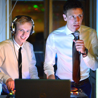 Ben and Nick, our wedding DJs, our party DJs!