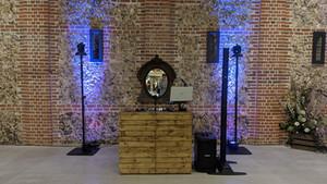 Rustic Wedding DJ at Tuffon Hall Vineyard, Essex