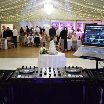 Our Wedding DJ at Parklands Quendon Hall