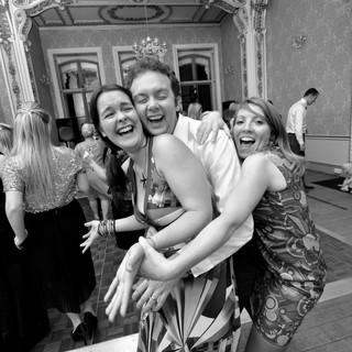 Even more happy faces, even more wedding reception dancing!